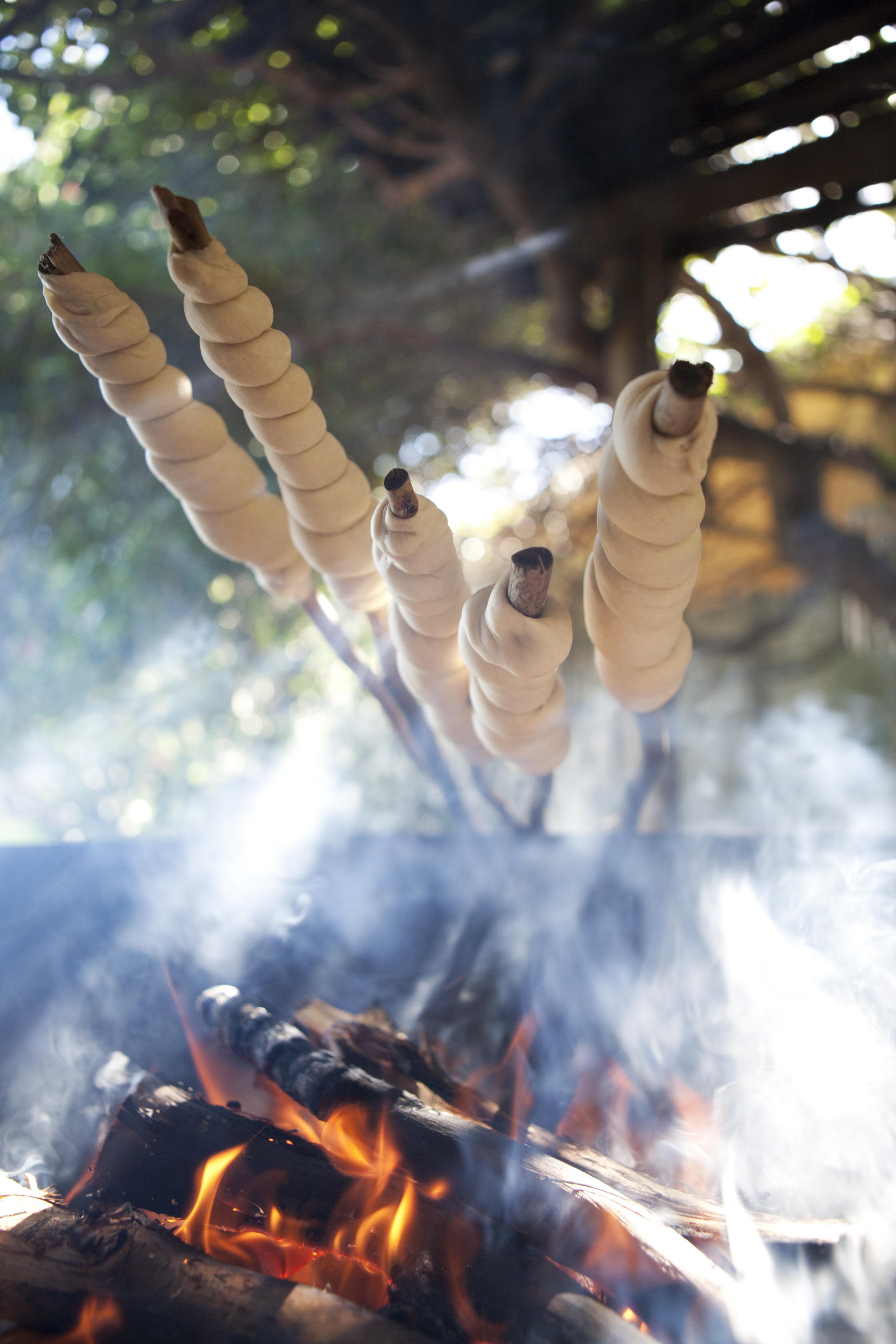 Justin Bonello Recipe Bread sticks and home made basil pesto