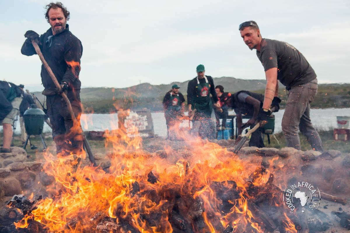 Justin Bonello, Behind the Scenes, Ultimate Braai Master, Fire, Braai, South Africa, cooking show